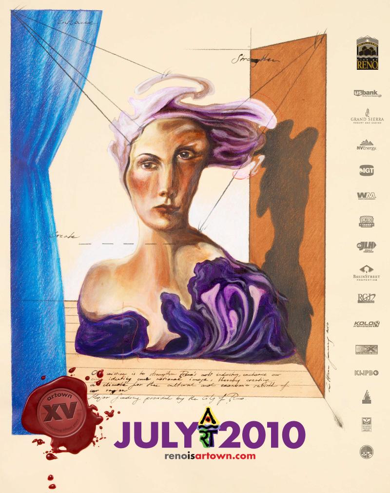 Artown 2010 Poster Design