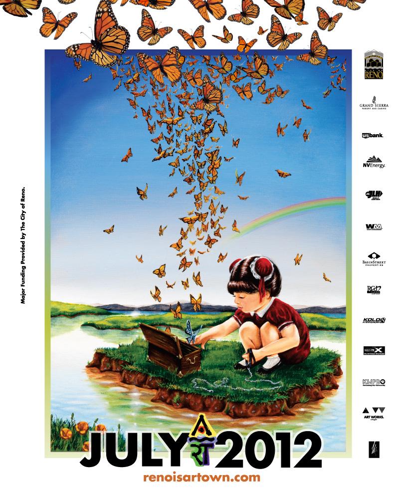 Artown 2012 Poster