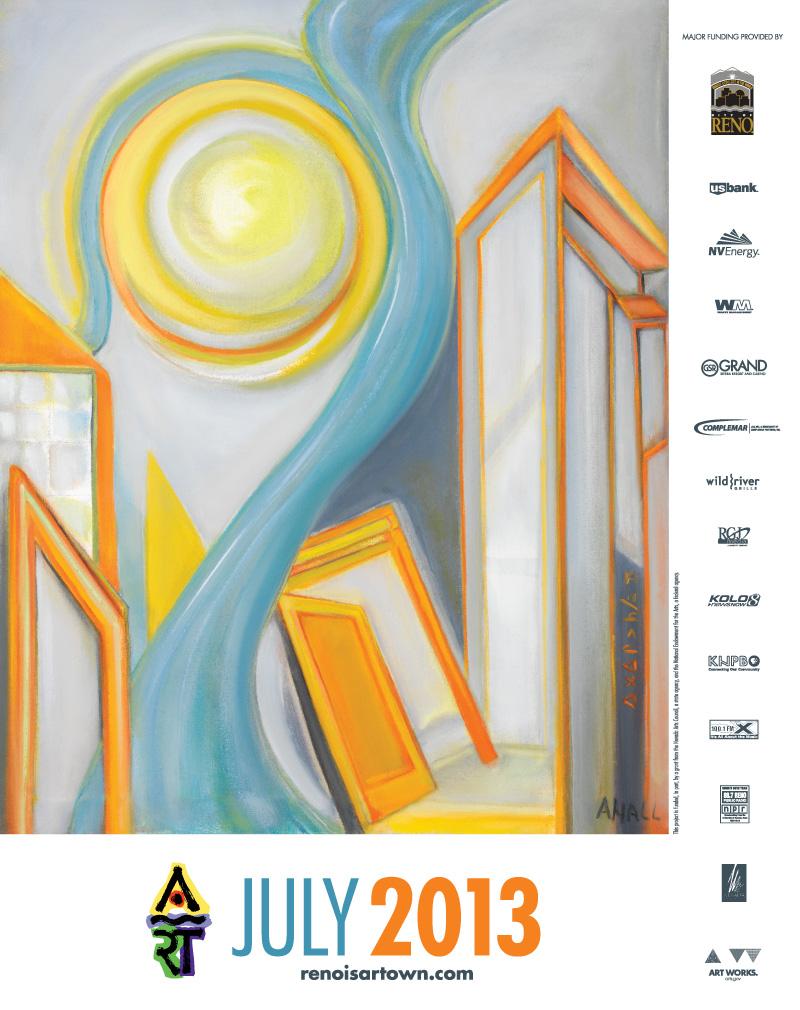 Artown 2013 Poster