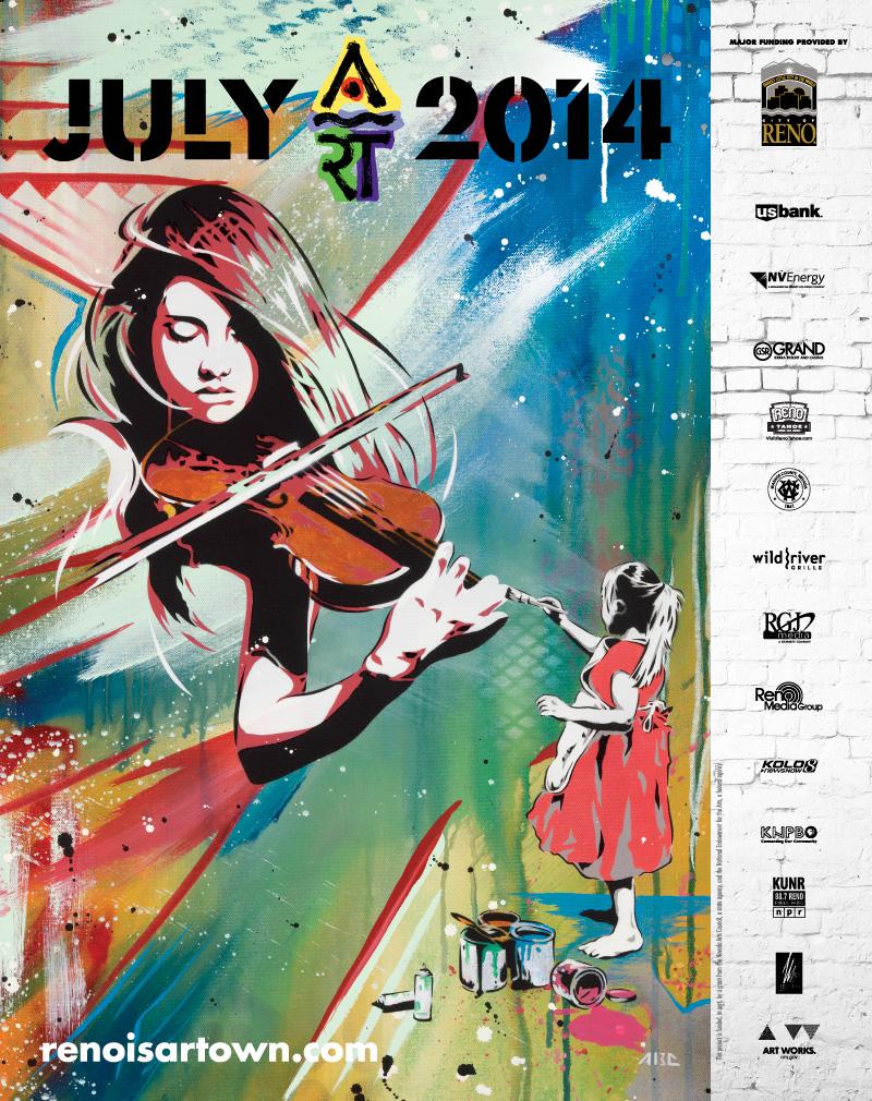 Artown 2014 Poster