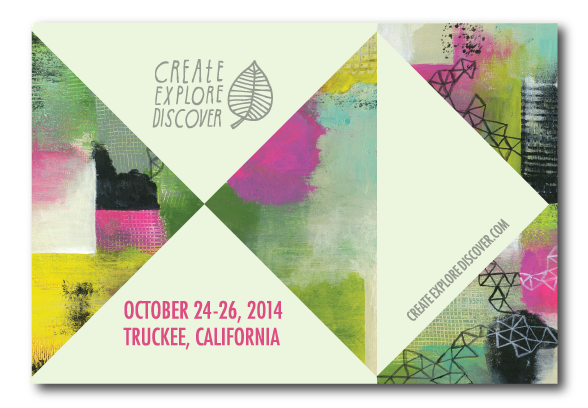 Save the Date for Create Explore Discover