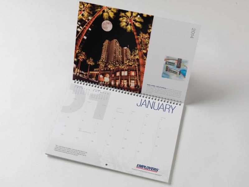EMPLOYERS Main Street Calendar