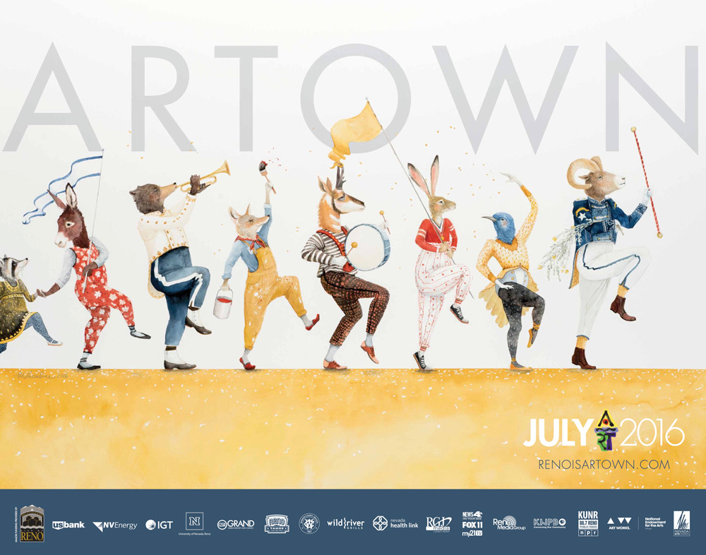 2016 Artown Poster by Stan Can Design