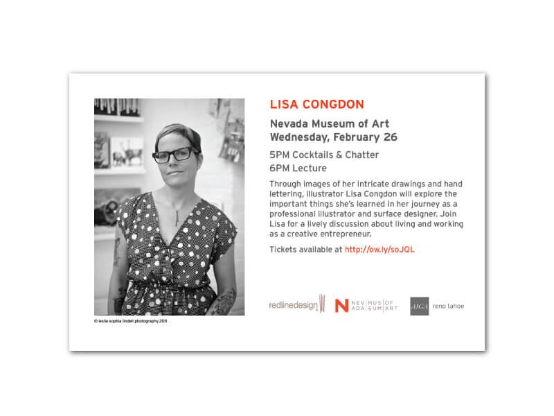 Lisa Congdon Hand Bill Back