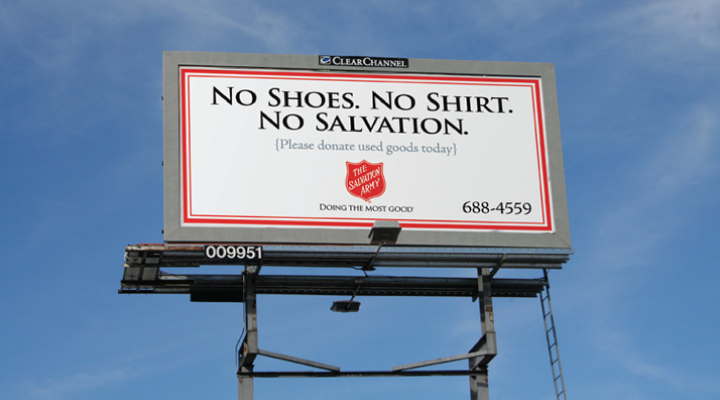 Salvation Army Outdoor by Stan Can Design