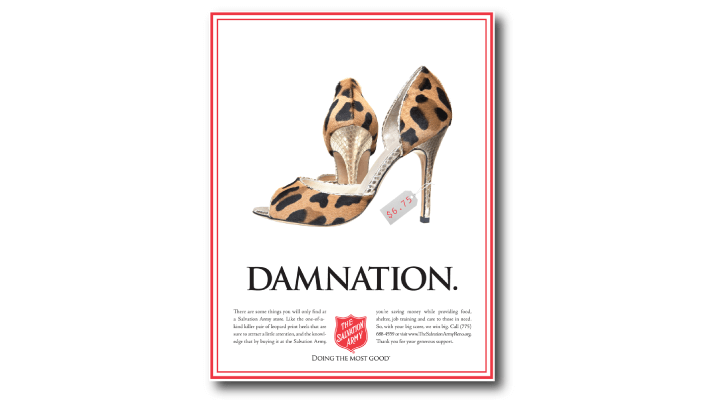 Salvation Army Print Ad by Stan Can Design