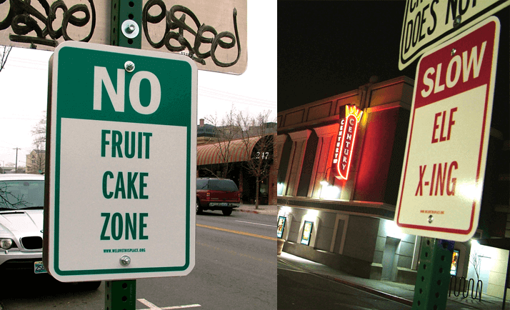 No Fruit Cake Zone by Stan Can Design